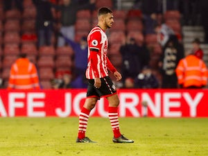 Boufal training with Southampton Under-23s