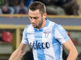 Stefan de Vrij during the Serie A match between Bologna and Lazio on October 25, 2017