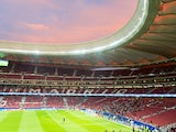 General view inside the Wanda Metropolitano, August 2017
