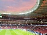 General view inside the Wanda Metropolitano, August 2017