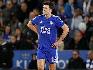Harry Maguire hoping Leicester bounce back at Everton