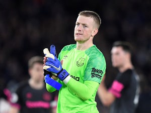 Pickford 'disgusted' with mistake for Benteke goal