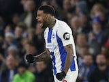 Jurgen Locadia celebrates scoring for Brighton on December 29, 2018