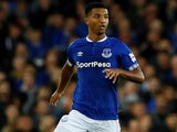 Mason Holgate in action for Everton on August 28, 2018