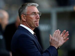 Nigel Adkins in charge of Hull City on November 24, 2018