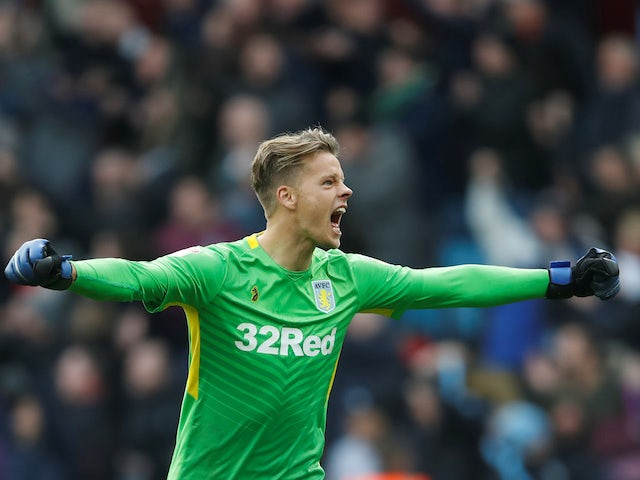 Dean Smith heaps praise on Aston Villa keeper Orjan Nyland