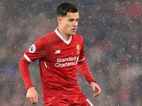 Philippe Coutinho pictured in action for Liverpool on December 10, 2017