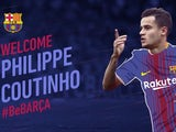 Barcelona welcome Philippe Coutinho on January 6, 2018
