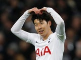 Son Heung-min in action for Spurs on December 26, 2018
