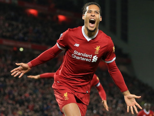 Result: Van Dijk scores winner on Liverpool debut