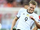 Andre Schurrle in action for Germany in June 2016