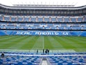 General view inside the Bernabeu, taken February 2009