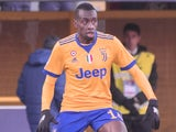 Blaise Matuidi in action for Juventus in the Serie A on December 17, 2017