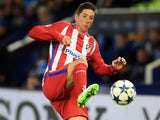 Fernando Torres in action for Atletico Madrid in April 2017
