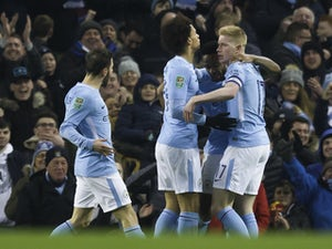 Aguero spares Man City blushes