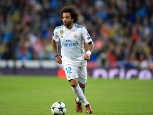 Real Madrid's Marcelo in action against Tottenham Hotspur in the Champions League on October 17, 2017