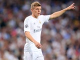Toni Kroos in action for Real Madrid in May 2016