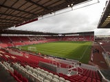 General view of Stoke City ground the bet365 Stadium, pictured in the 2017-18 season
