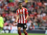 Jack Rodwell in action for Sunderland in August 2016