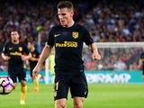 Kevin Gameiro in action for Atletico Madrid in September 2016