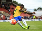 Malcom in action for Brazil under-20s in 2016