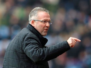 Paul Lambert in charge of Aston Villa in February 2015