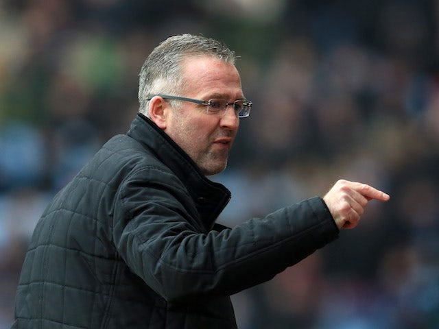 Lambert: 'We let ourselves down at Stoke'