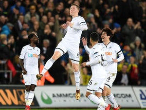 Swansea put four past West Ham