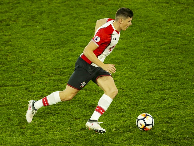 Guido Carrillo in action during the FA Cup game between Southampton and Watford on January 27, 2018
