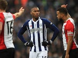 Daniel Sturridge in action for West Bromwich Albion against Southampton in the Premier League match on February 3, 2018