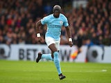 Eliaquim Mangala in action for Manchester City on December 31, 2017
