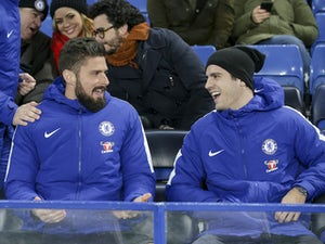 Team News: Olivier Giroud on bench for Chelsea