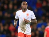Quincy Promes in action for the Netherlands in October 2015