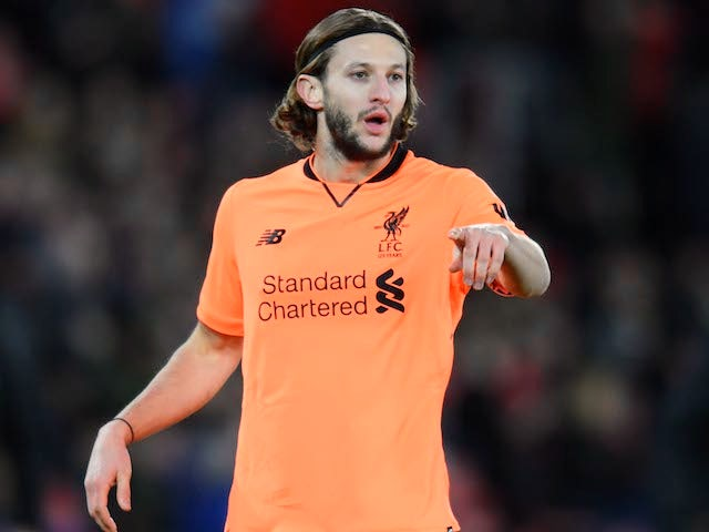 Adam Lallana in action for Liverpool on February 11, 2018