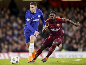 Live Commentary: Chelsea 1-1 Barcelona - as it happened