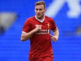 Herbie Kane in action for Liverpool under-19s on February 21, 2018