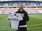 Jan Kirchhoff signs for Bolton Wanderers on February 22, 2018