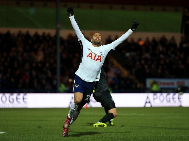 Result: Lucas, Llorente net twice for rampant Spurs