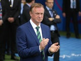 Michael O'Neill in charge of Northern Ireland in June 2016