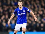 Morgan Schneiderlin in action for Everton on January 5, 2018