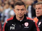 Barnsley boss Paul Heckingbottom pictured in late 2017