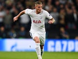 Toby Alderweireld in action for Tottenham Hotspur in November 2017