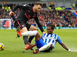 Brighton hold on to defeat Arsenal