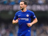 Danny Drinkwater in action during the Premier League game between Manchester City and Chelsea on March 4, 2018