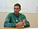 Gus Poyet in charge of Real Betis in October 2016