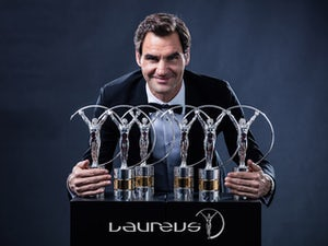 Federer top winner at Laureus Awards