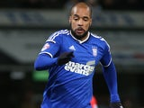 David McGoldrick in action for Ipswich Town in January 2015