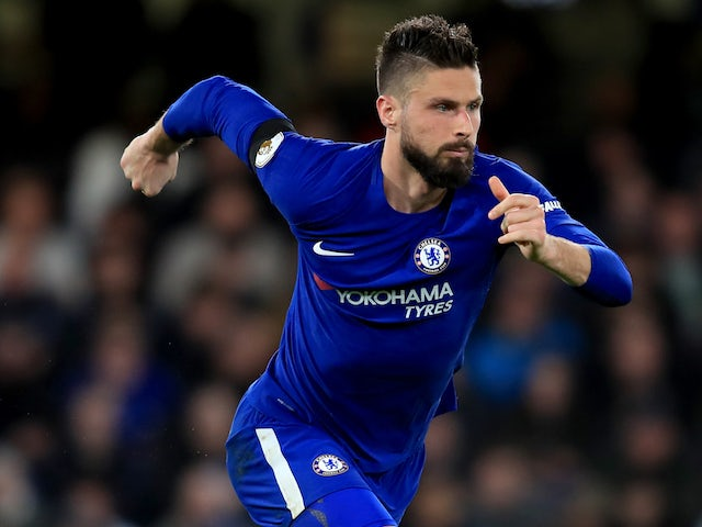 Conte says he trusts Morata and Giroud