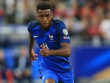Thomas Lemar in action for France in August 2017
