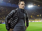 Thomas Tuchel in charge of Borussia Dortmund in 2016